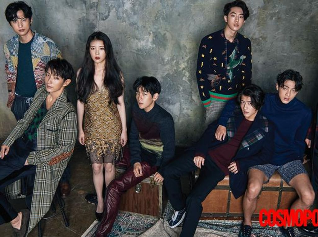 Para Pemeran Scarlet Heart: Ryeo Eksis di Pemotretan Majalah