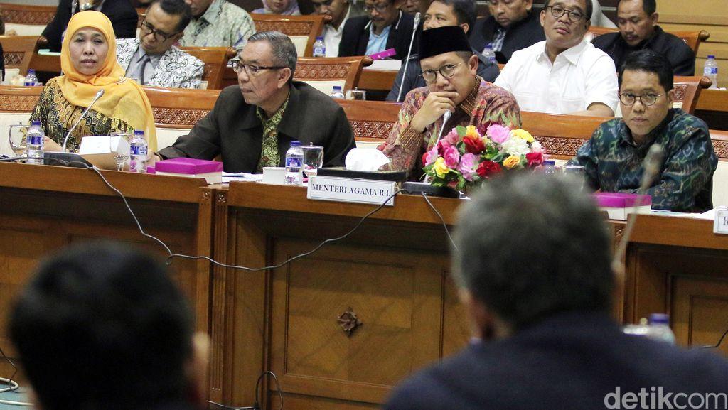 Komisi VIII, BNPB, Menag dan Mensos Bahas Anggaran 2017