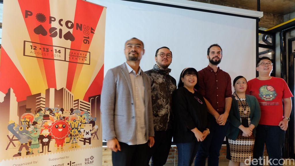 Usung Tema Pop Revolution, Popcon Asia 2016 Digelar Agustus