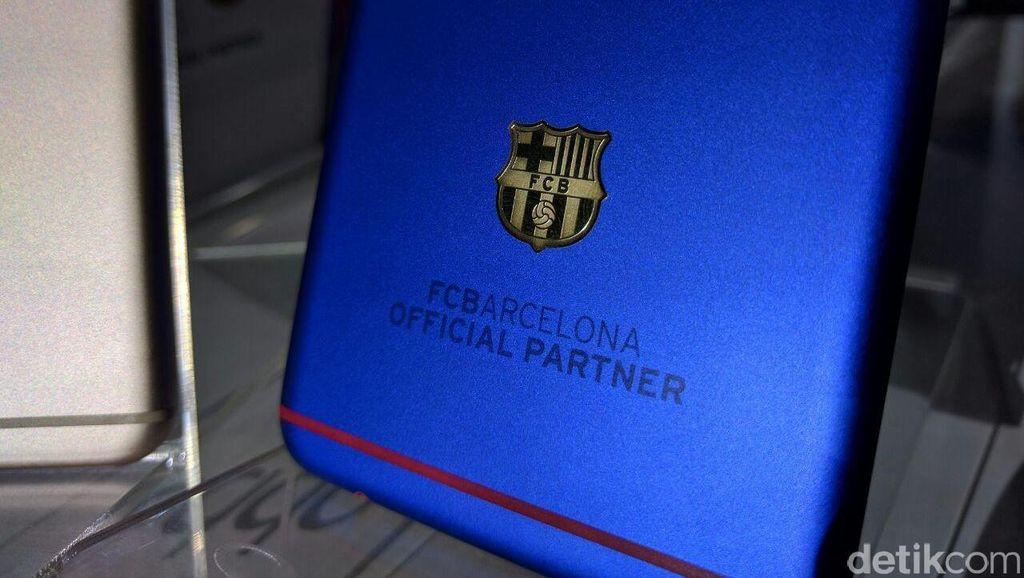 Oppo F1 Plus Bertanda Tangan Messi Laku Rp 175 Juta