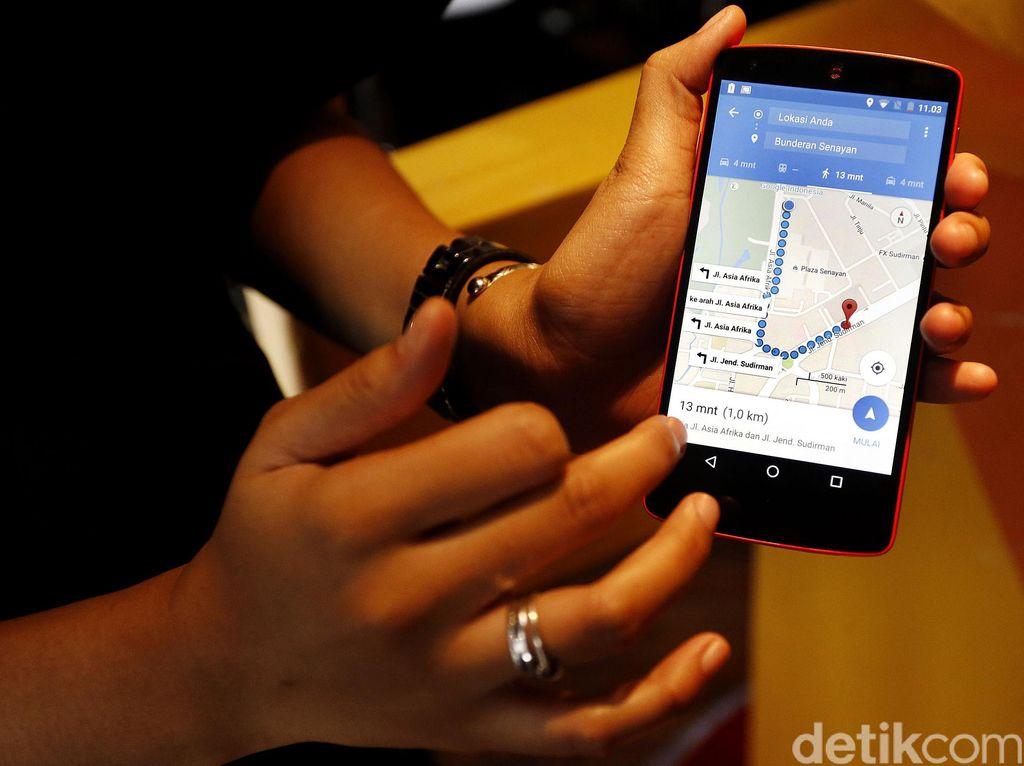 Peta Google Sudah Rekam 98% Populasi Dunia
