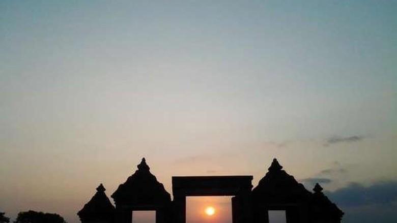 Sunset di Ratu Boko (I Gede Leo Agustina/dTraveler)