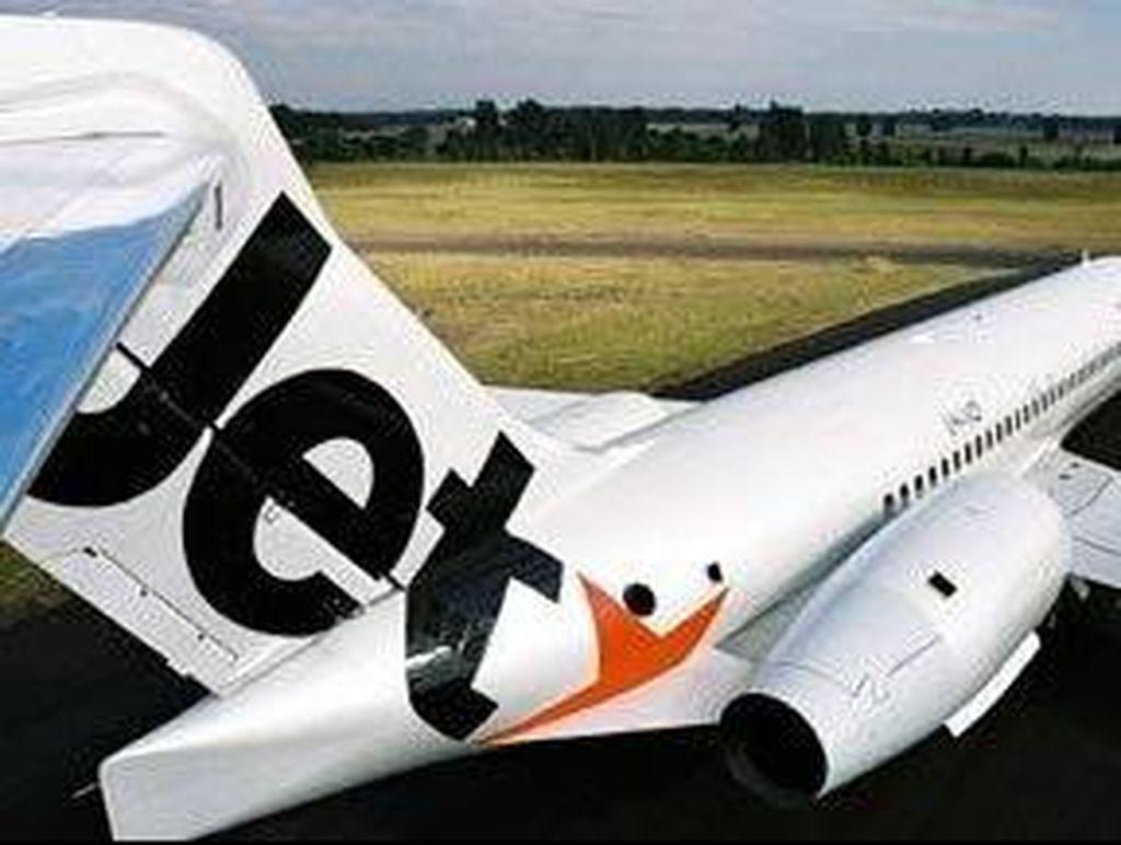 Kabin Penuh Asap, Pilot Jetstar Matikan Mesin dan Alihkan Penerbangan