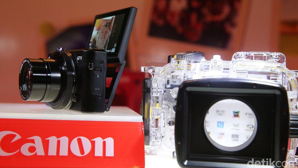 Kamera Saku Canon nan Mungil