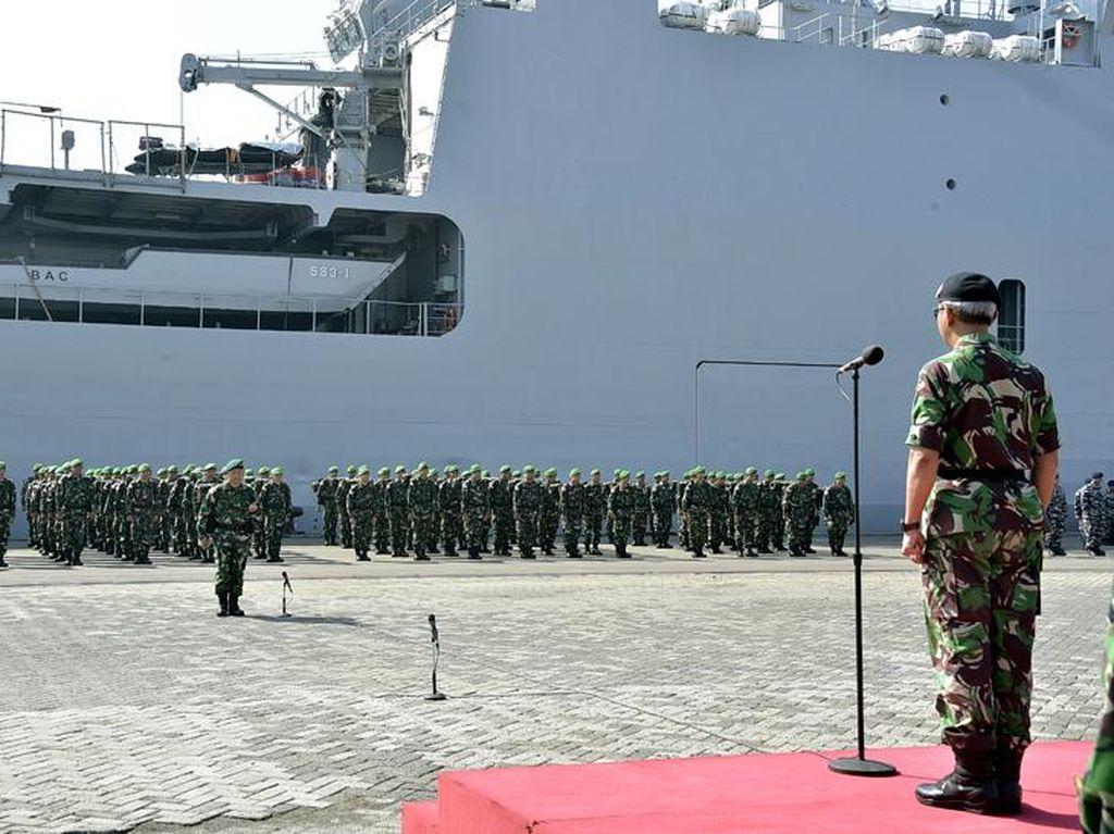 TNI dan Tentera Malaysia Latihan Gabungan Bersama
