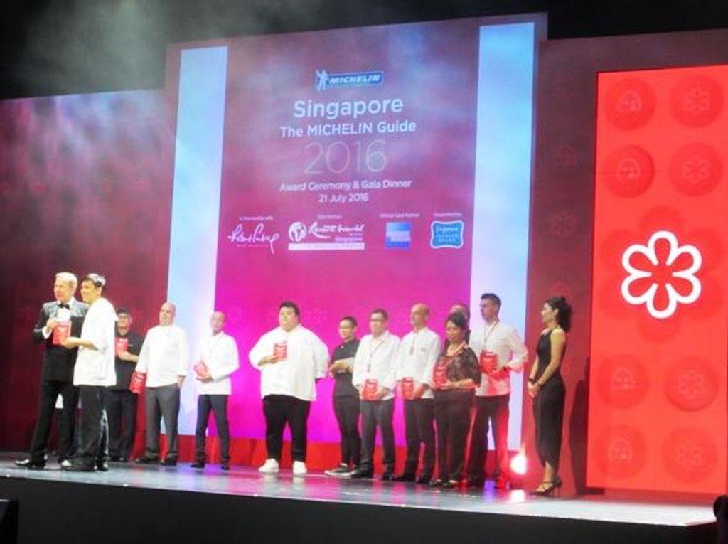 Inilah Daftar Lengkap Resto Peraih Michelin Guide Pertama  Singapura
