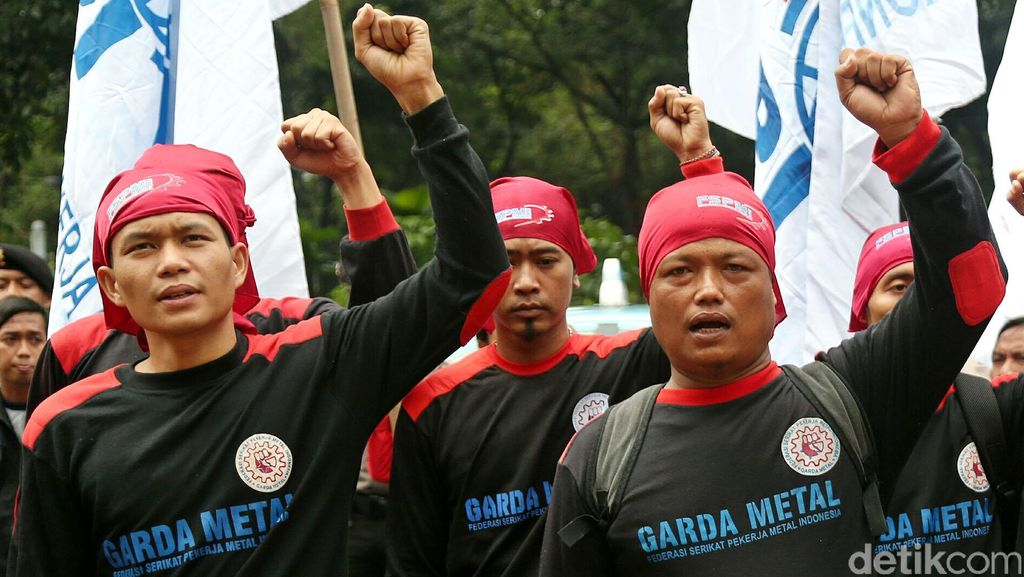 Buruh Tolak UU Tax Amnesty