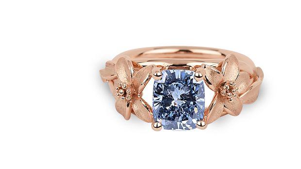 Cincin berlian Jane Seymour. (Dok. World of Diamonds)