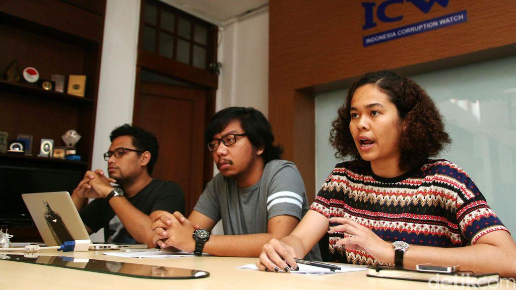 ICW Sebut Koruptor Rata-rata Divonis 2 Tahun 1 Bulan Penjara