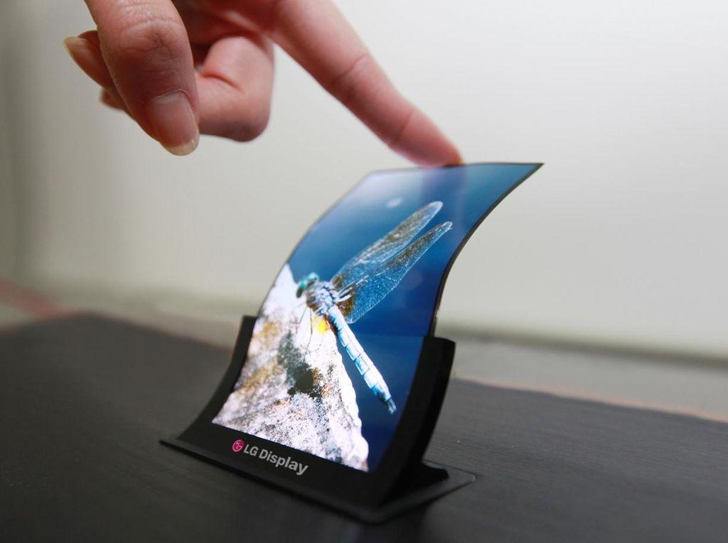 LG Kucurkan USD 1,75 Miliar Demi Ponsel Layar Fleksibel