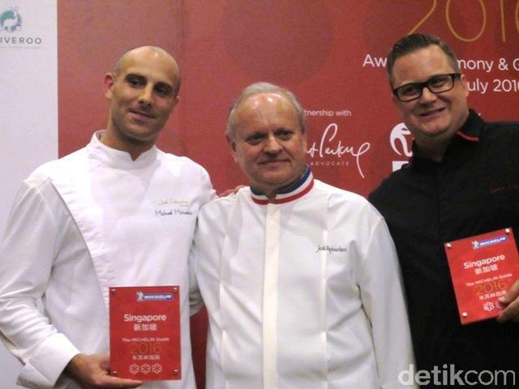 Restorannya Raih Bintang Michelin, Ini Komentar Para Chef