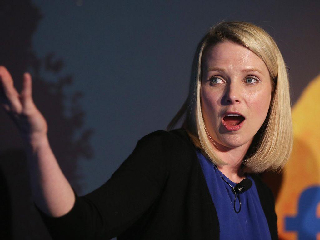 Marissa Mayer Masih Bisa Terus Pimpin Yahoo