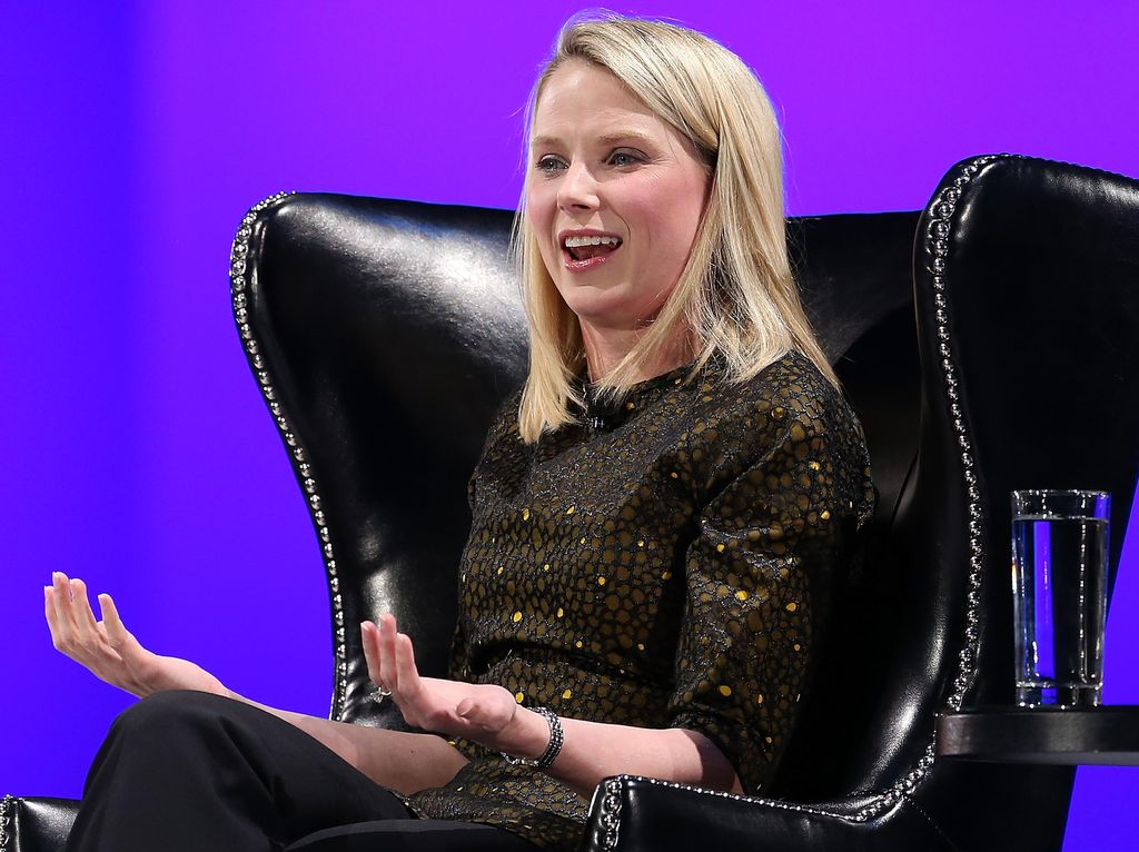 CEO Cantik Yahoo Tinggal Menghitung Hari