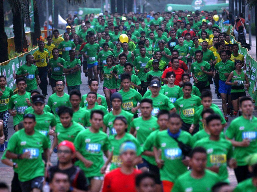 Kemeriahan Jakarta International 10K