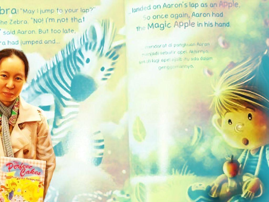 Ratusan Buku Anak dari Tangan Arleen