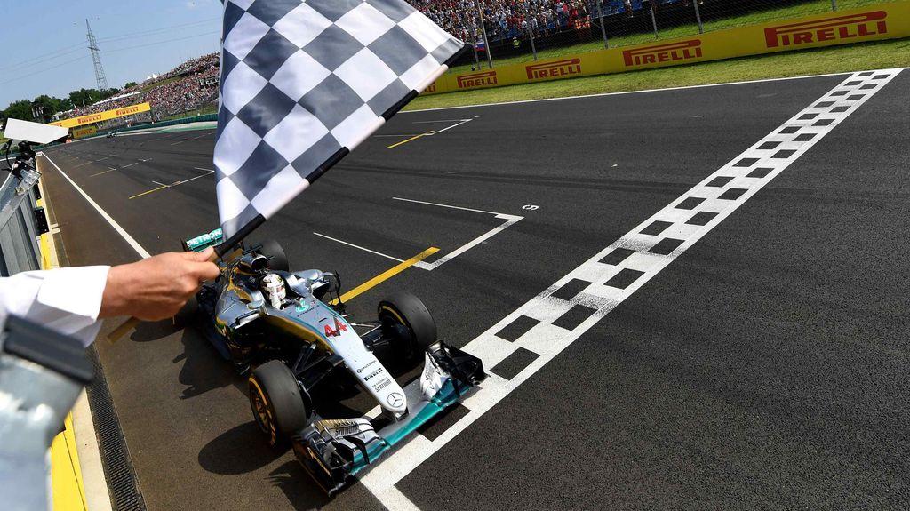 Hamilton Tercepat di GP Hongaria