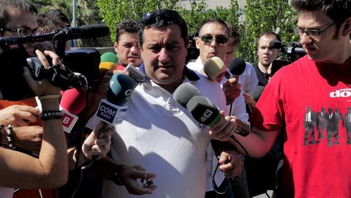 Mino Raiola, superagen asal Italia. (Foto: AFP/Josep Lago)