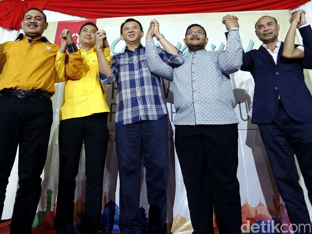 Perjalanan Panjang Loncatan Politik Ahok