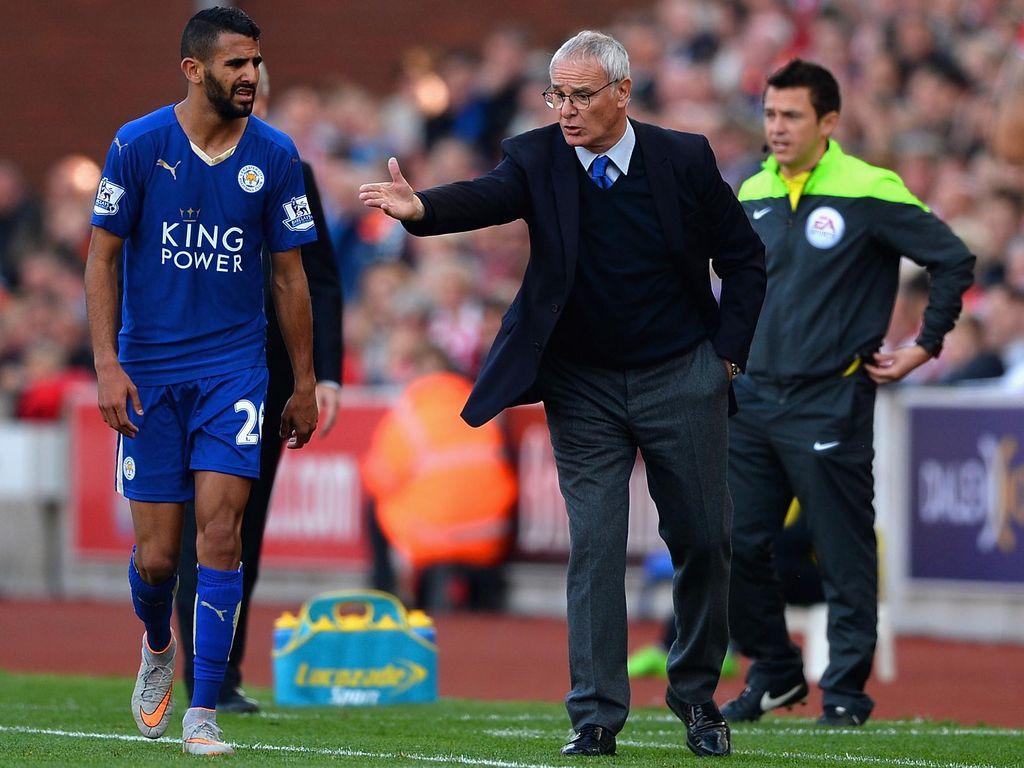 Ranieri: Mahrez Cahaya Leicester