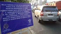 Polisi: Minim Pelanggaran di Hari Pertama Tunjukkan Sosialisasi Ganjil Genap Berhasil