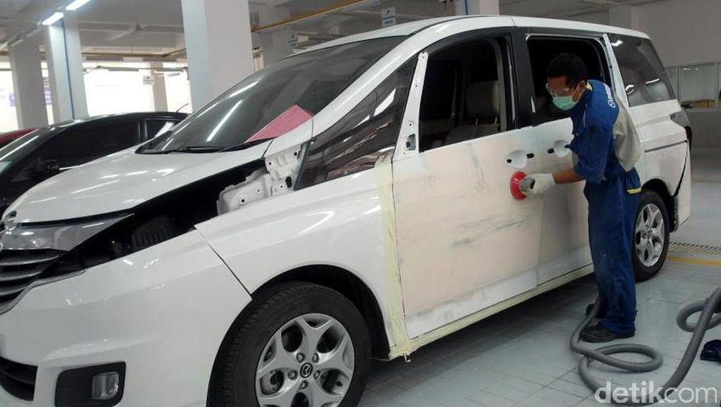 Mazda Resmikan Layanan Perbaikan Bodi dan Cat