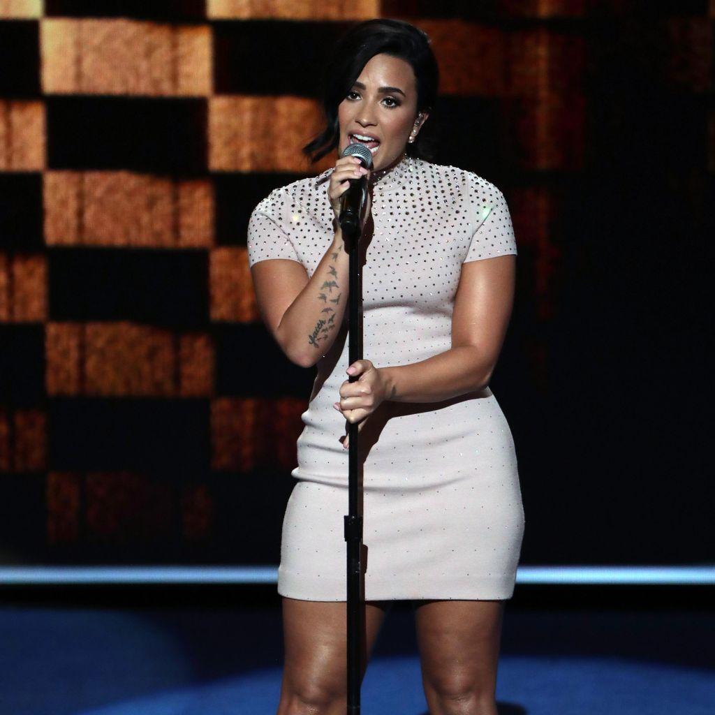 Demi Lovato Rayakan Perolehan Nominasi Grammy Pertamanya
