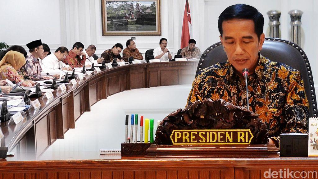 Yang akan Dilantik Jokowi: Idrus, Moeldoko, Agum, Marsdya Yuyu