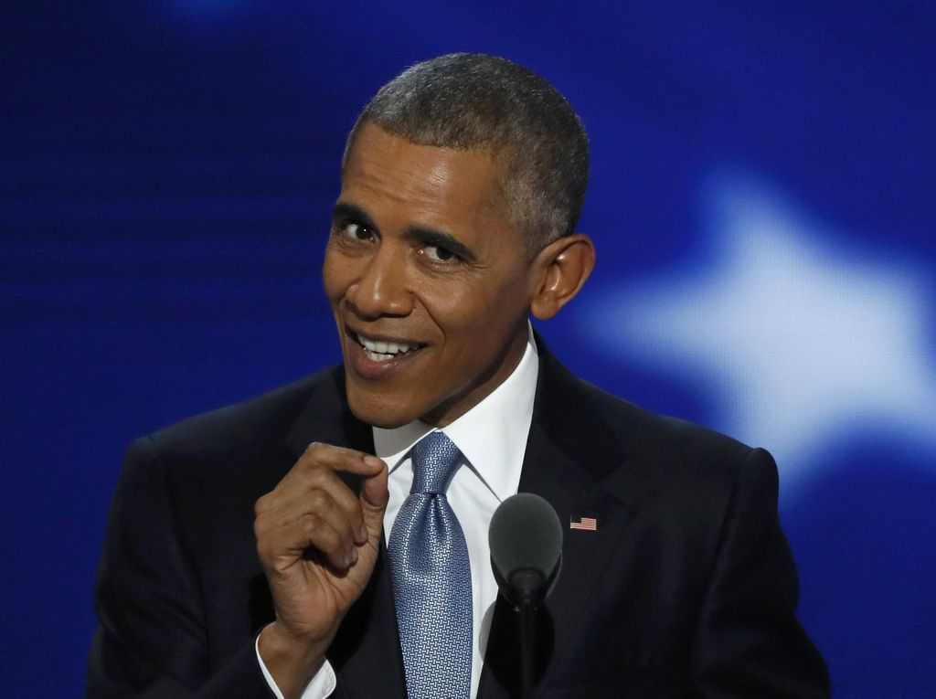 Obama Serukan Warga AS Pilih Hillary Clinton dalam Pilpres