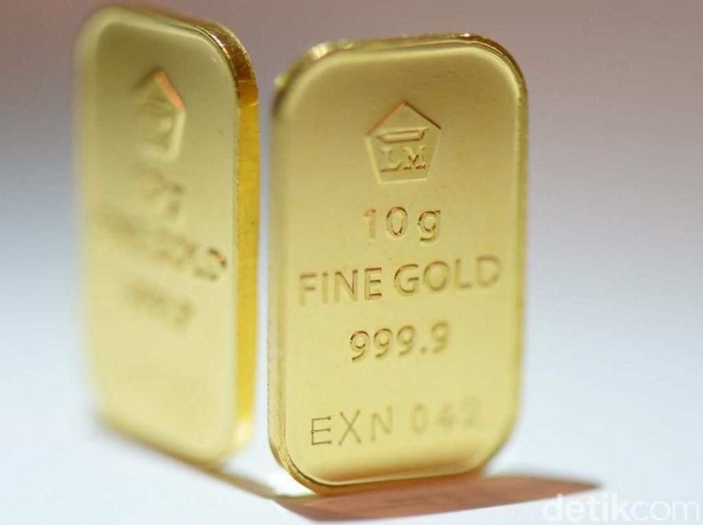 Harga Emas Antam Turun Rp 3.000