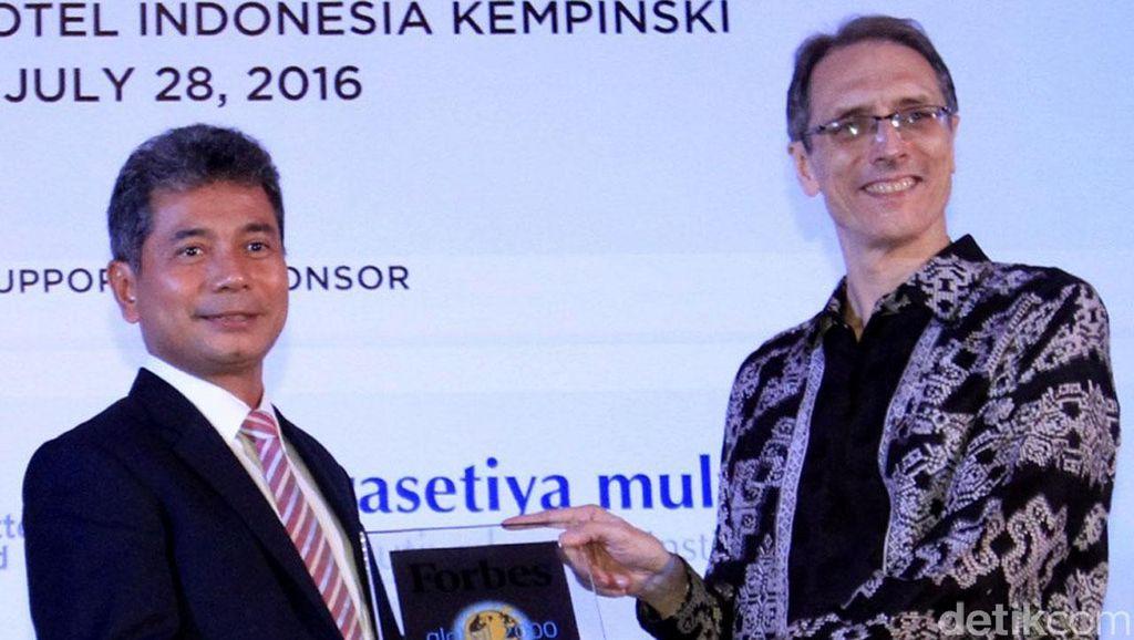 BRI Terima Penghargaan dari Forbes Indonesia