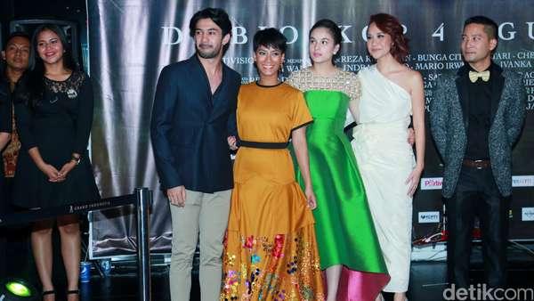 Pesona Chelsea Islan, Tara Basro dan BCL di Pemutaran 3 Srikandi