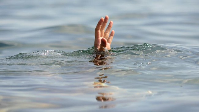 Tolong Warga, Kanit Intel Ikut Tenggelam Terseret Arus Sungai