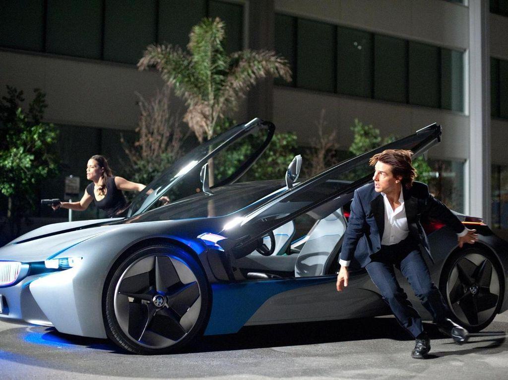Menyaksikan Tom Cruise Terjebak Aksi Peledakan di Seri Mission Impossible