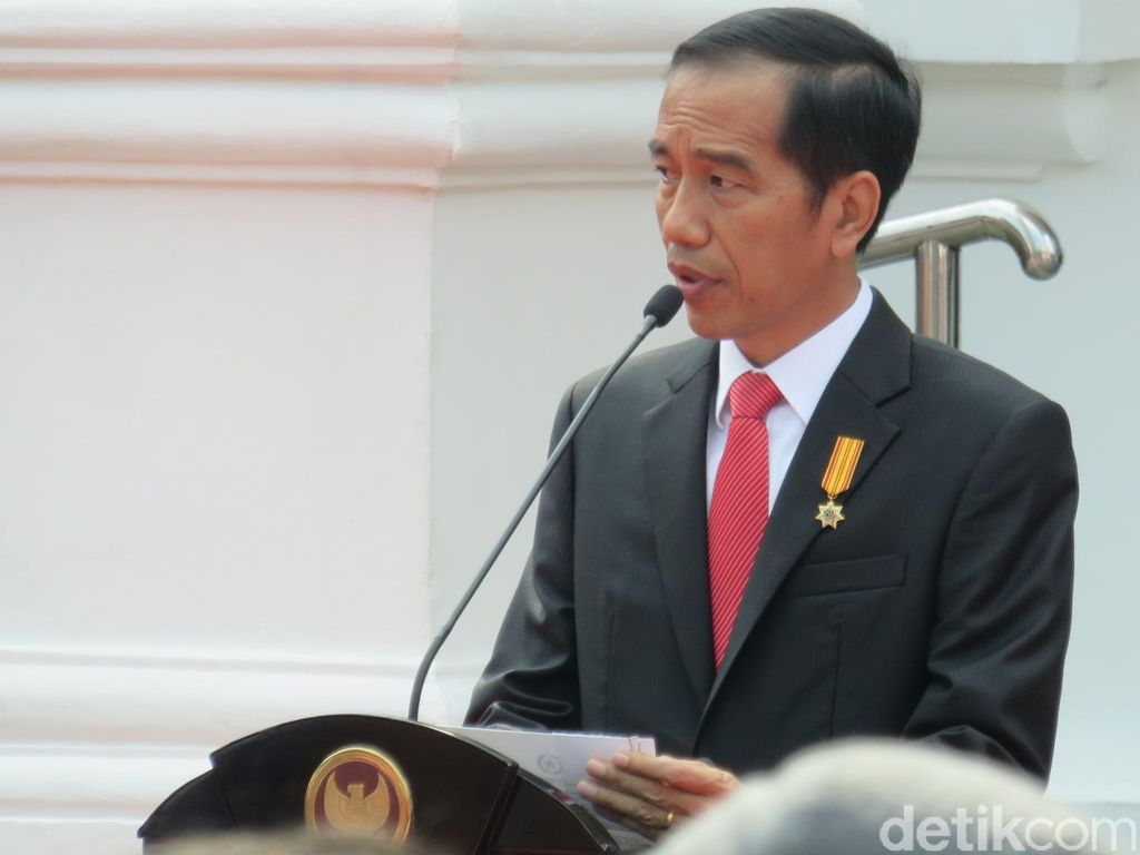 Jokowi Ajak Saksikan Upacara Kemerdekaan di Istana Lewat Video 360 Derajat