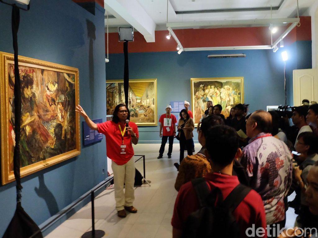 Lukisan Basoeki Abdullah Kalah dari Karya Sudjojono di Balai Lelang?