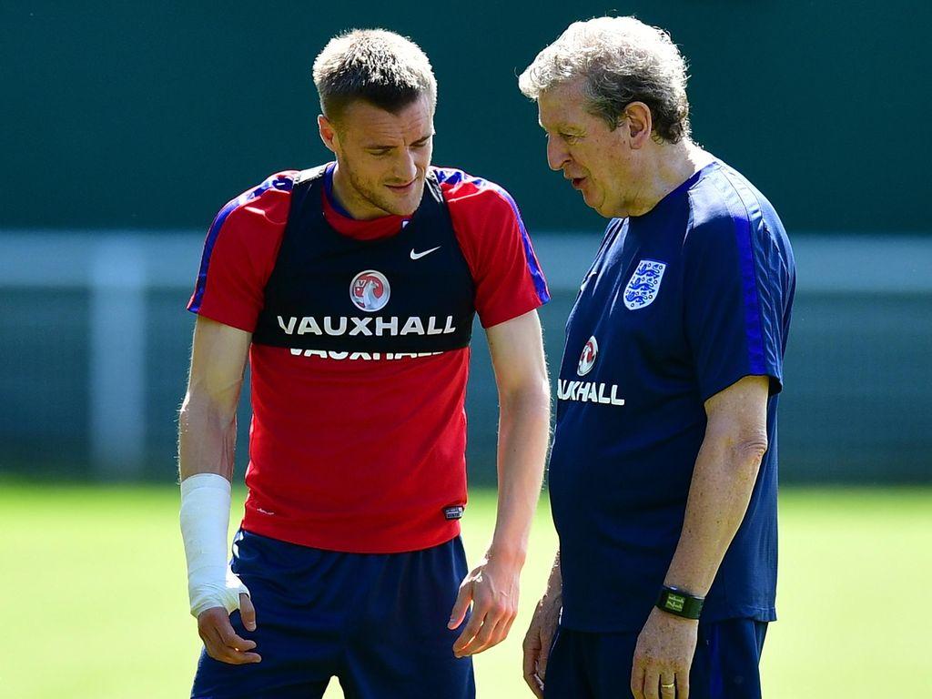 Tolak Arsenal, Vardy Mengaku Didukung Hodgson