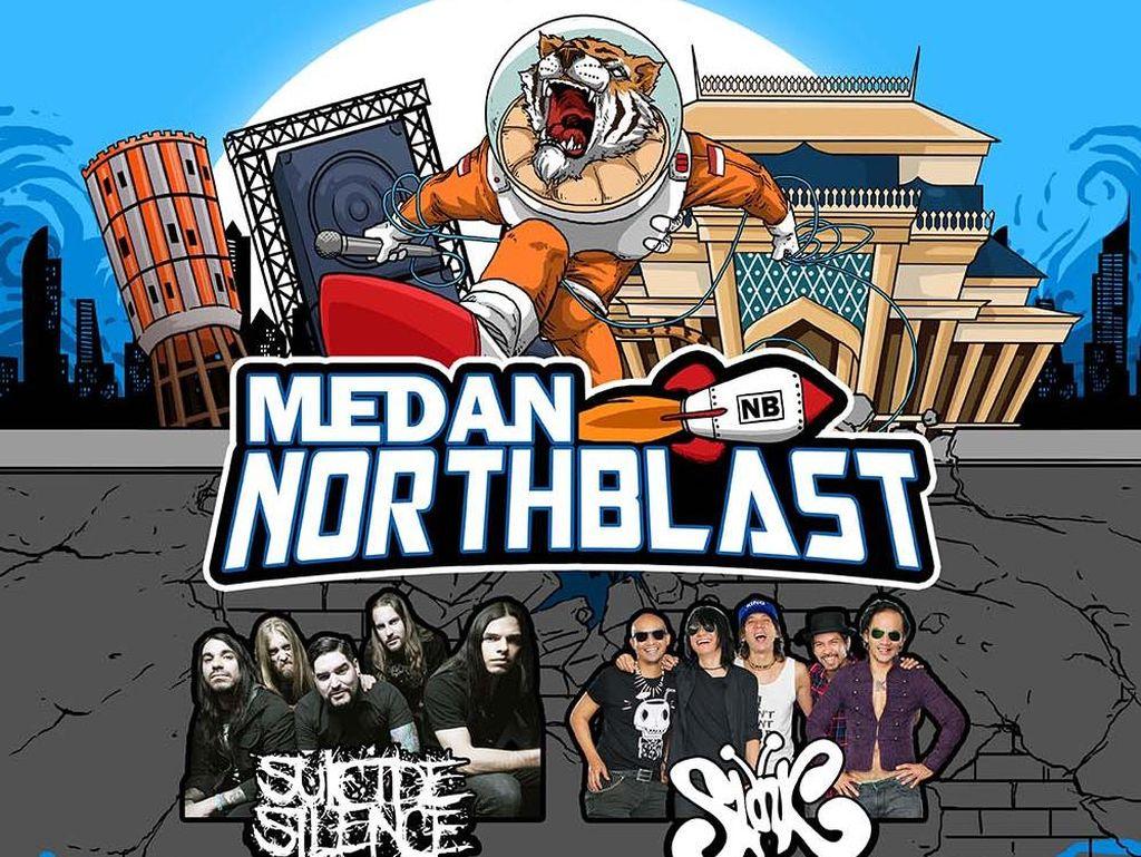 Slank hingga Suicide Silence Gempur Medan Northblast 2016