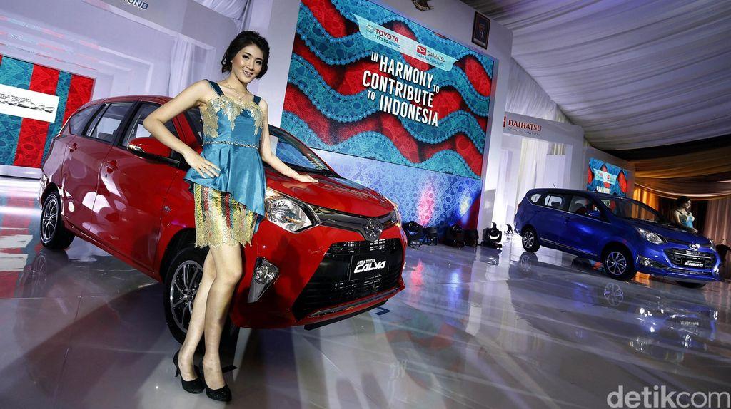 Toyota-Daihatsu Luncurkan Calya dan Sigra