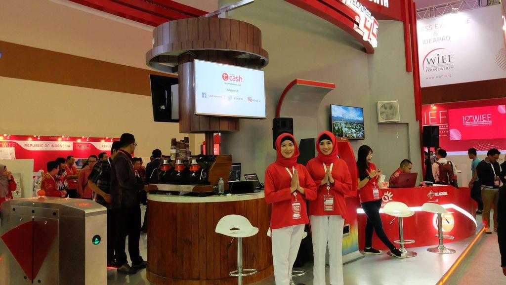 Uang Digital TCash Unjuk Gigi ke Jokowi