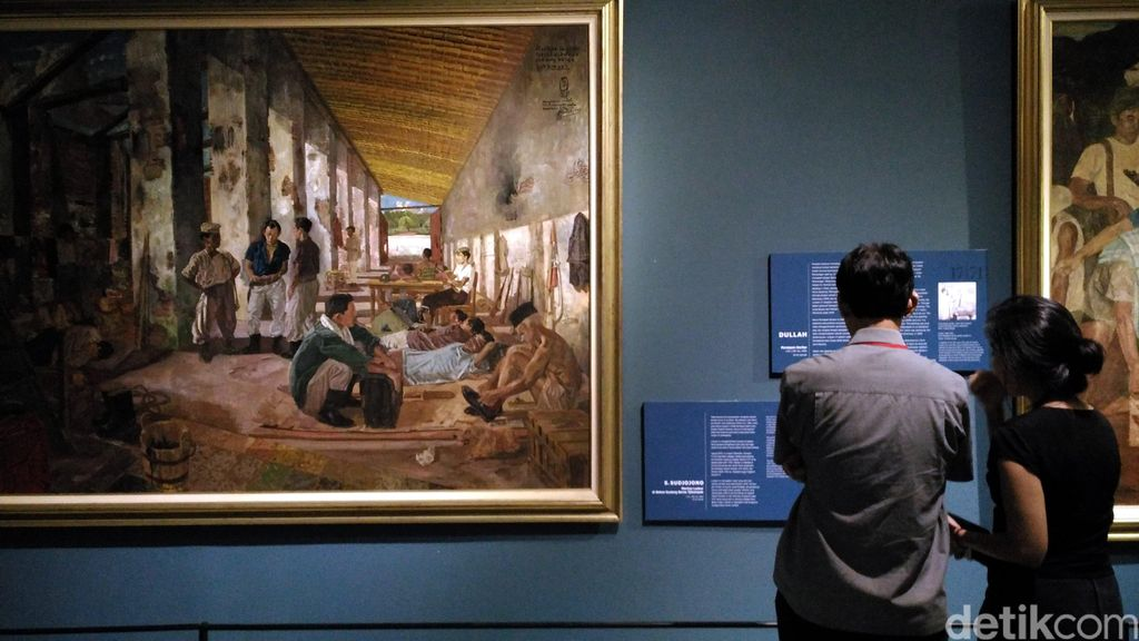 Aneka Lukisan Langka Koleksi Istana di Galeri Nasional