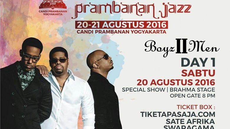 Siap Digoyang Boyz Ii Men Di Indihome Prambanan Jazz 2016
