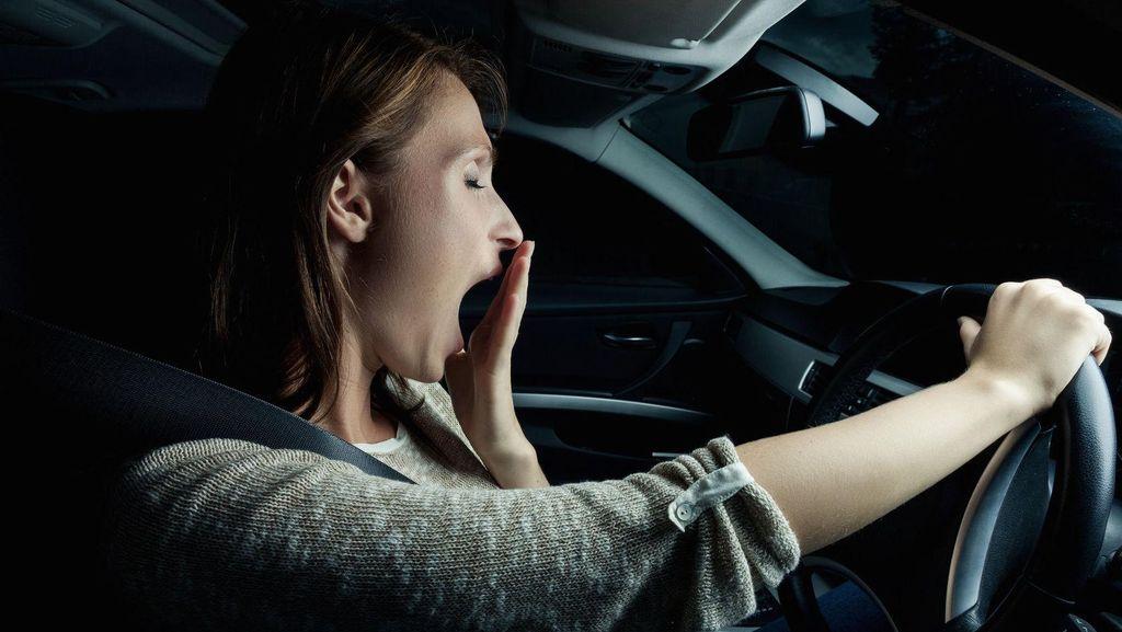 Kurang Tidur 1-2 Jam Lalu Berkendara, Bahayanya Seperti Mabuk