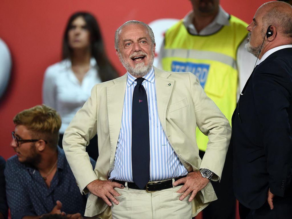 Presiden Napoli Soroti Undian Liga Champions