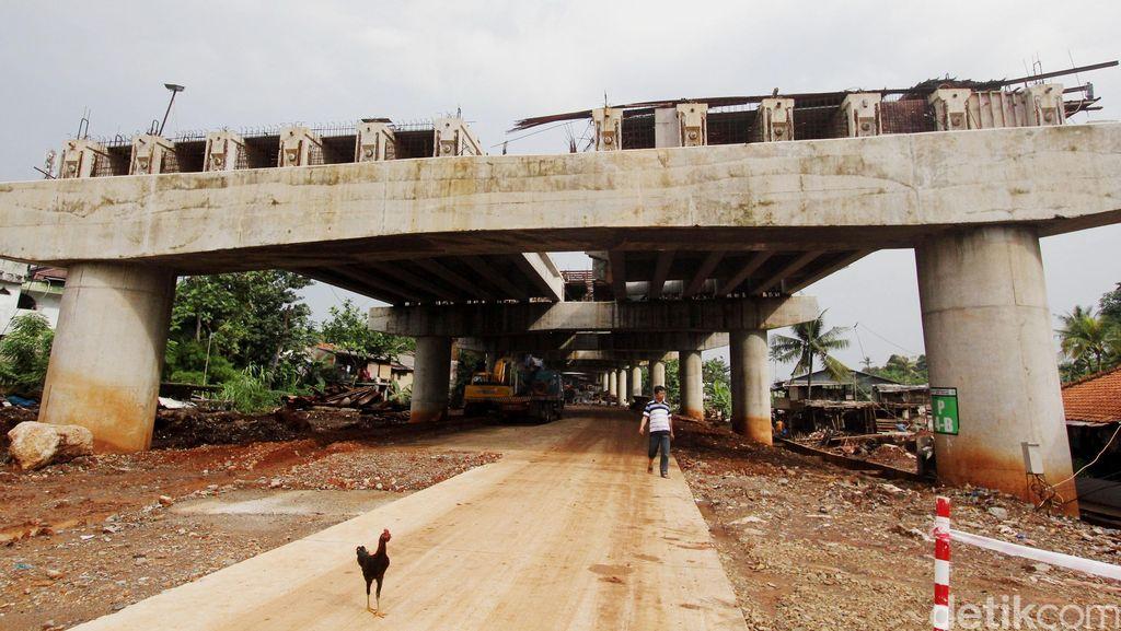Pengakuan Warga: Proyek Tol Desari Terhenti 3 Bulan Terakhir