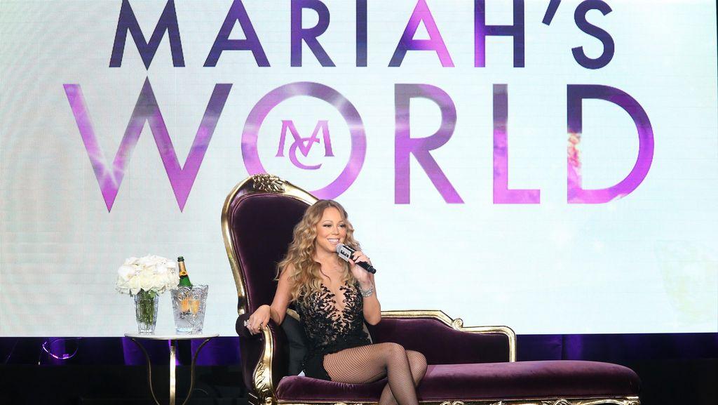 Coba Gaun Pengantin, Mariah Carey Bercanda Minta Gajah di Pernikahannya