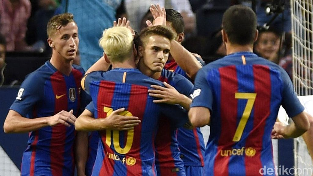 Barcelona Tundukkan Leicester 4-2