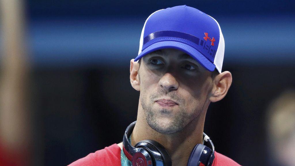 Michael Phelps Diisukan Makan 12.000 Kalori Tiap Hari Demi Dapat Medali