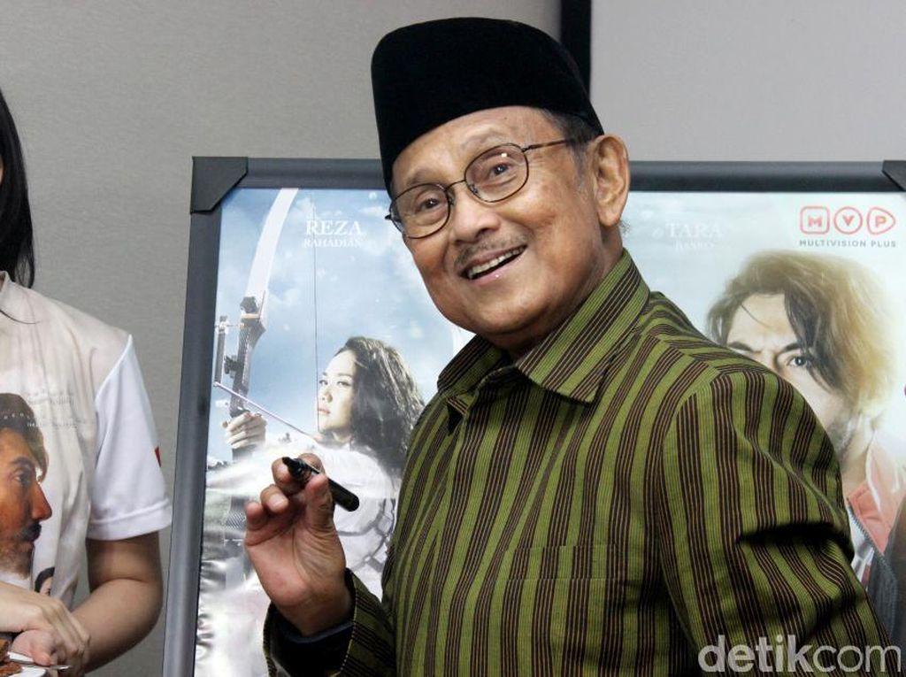 Istana Utus Dokter Kepresidenan untuk Pantau Kesehatan BJ Habibie