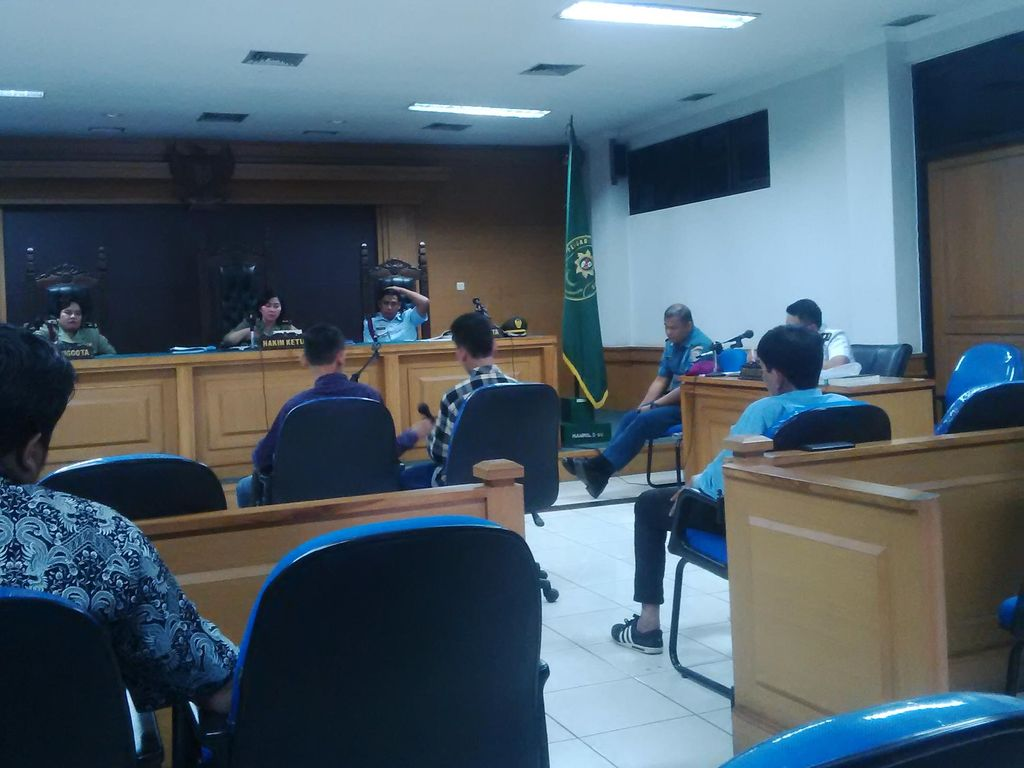 Cerita Bocah Korban Penganiayaan Marinir saat Bersaksi di Pengadilan Militer Bandung