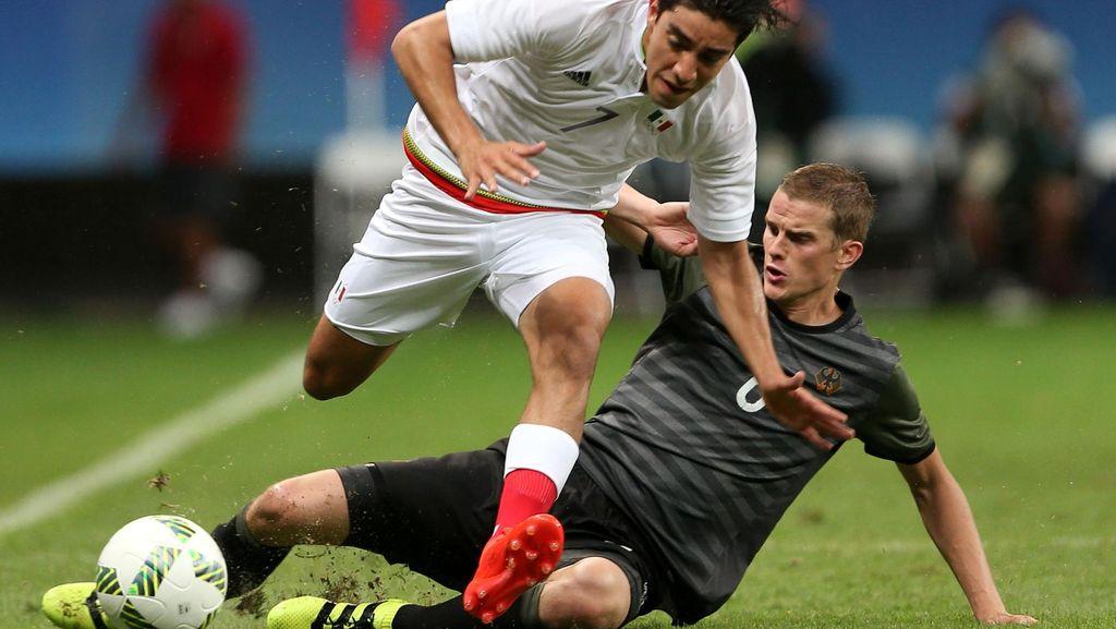 Jerman vs Meksiko Berakhir Tanpa Pemenang